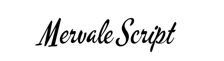 Mervale Script  Descarca Fonturi Gratis