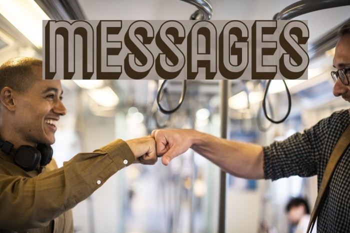 Messages Polices examples
