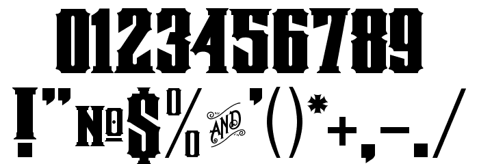 Mestizo Font Caratteri ALTRI CARATTERI