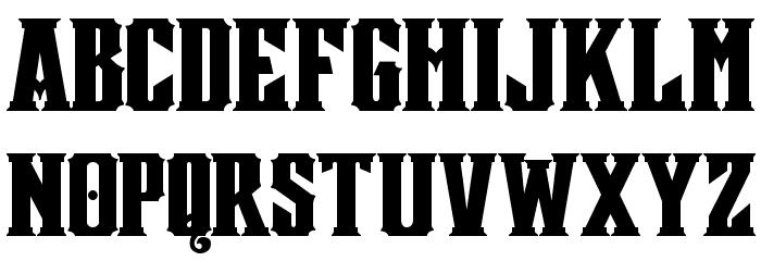 Mestizo Font Caratteri MINUSCOLO