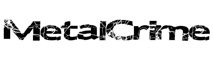 MetalCrime  Free Fonts Download