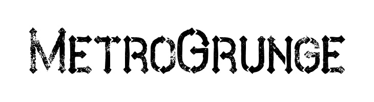 MetroGrunge  لخطوط تنزيل