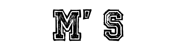 Mickey's School Font - free fonts download