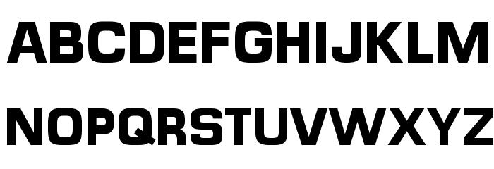 MicroFLF-Bold Font UPPERCASE