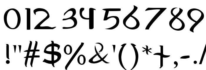 MiddleEarth 字体 其它煤焦