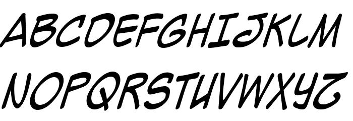Mighty Zeo 2.0 Italic Шрифта ВЕРХНИЙ