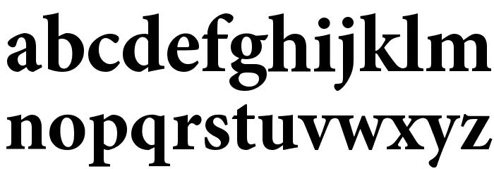 Mignon-Bold Font LOWERCASE