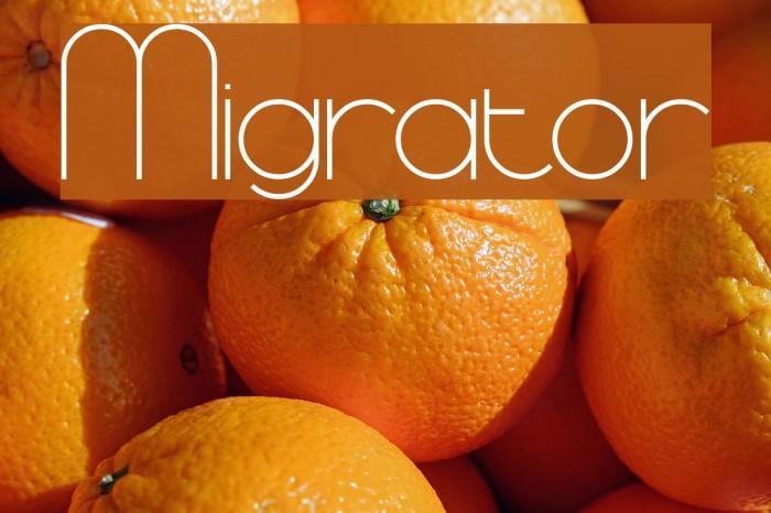 Migrator Fuentes examples