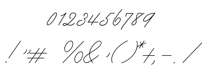Mike Ferrari_16017 Regular Шрифта ДРУГИЕ символов