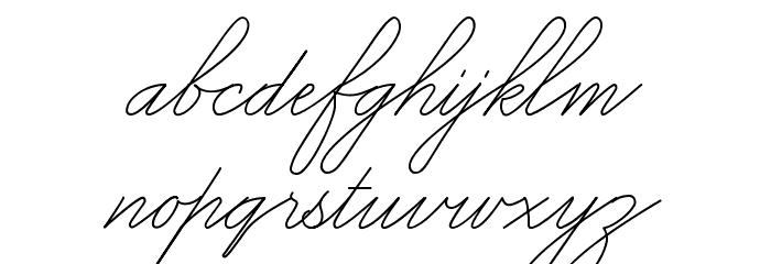 Mike Ferrari_16017 Regular Font LOWERCASE