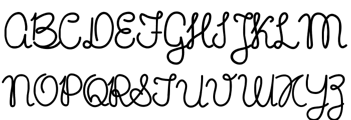Mikelis-Bold Font UPPERCASE