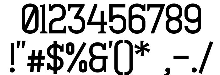 Minaeff Ect Bold Шрифта ДРУГИЕ символов