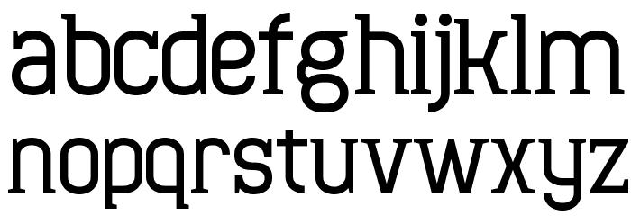 Minaeff Ect Bold Шрифта строчной