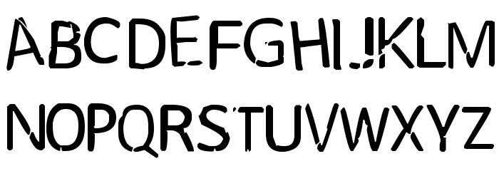 MindPlay Font UPPERCASE