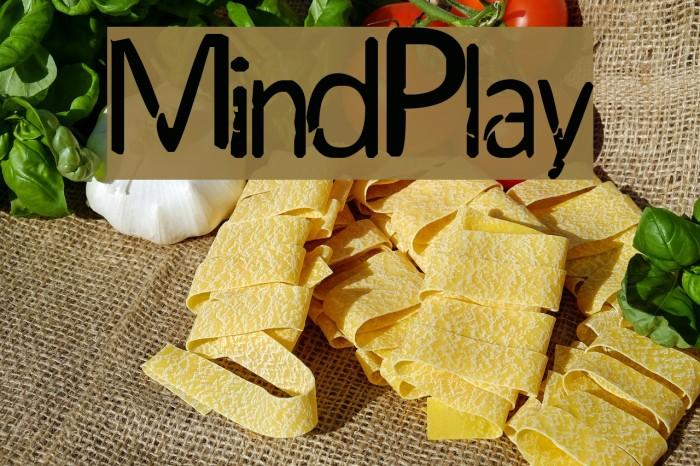 MindPlay Font examples