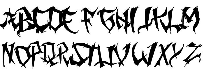 Ming Gothic Prima Fuentes MINÚSCULAS