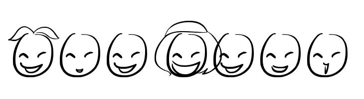 Mini Smile  Скачать бесплатные шрифты