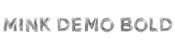 Mink Demo Bold  لخطوط تنزيل