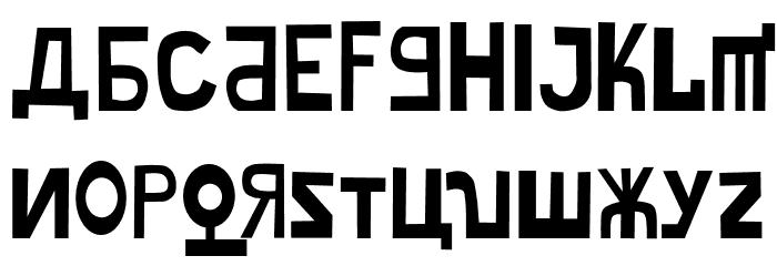 Misakishevik لخطوط تنزيل الأحرف الكبيرة