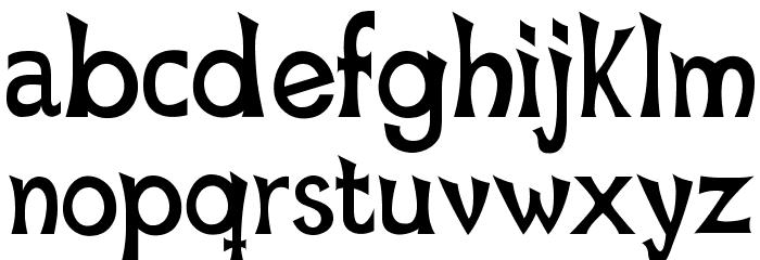 Mischievous Sans Serif Font Litere mici