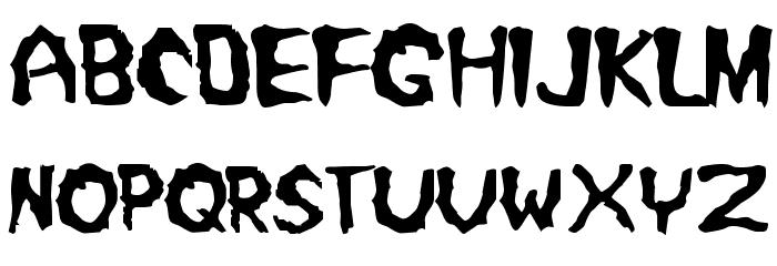 Misfit2 Font LOWERCASE
