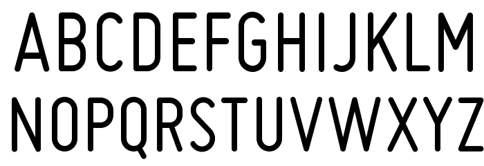 Miso Font UPPERCASE