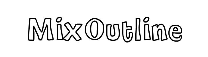 MixOutline  baixar fontes gratis