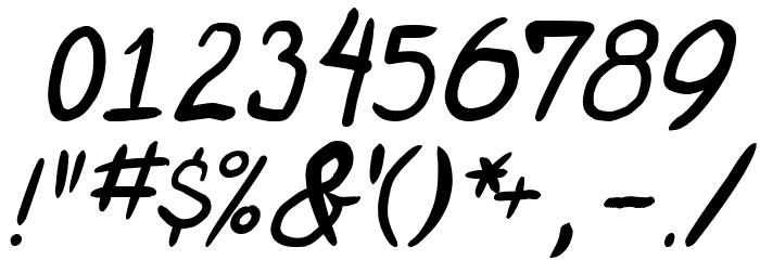 miniquest Italic 字体 其它煤焦