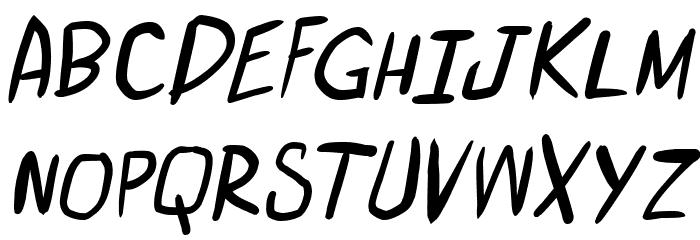 miniquest Italic 字体 大写