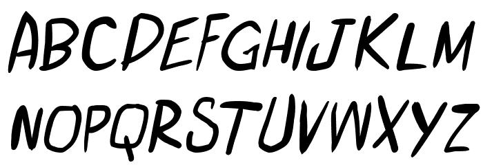 miniquest Italic 字体 小写