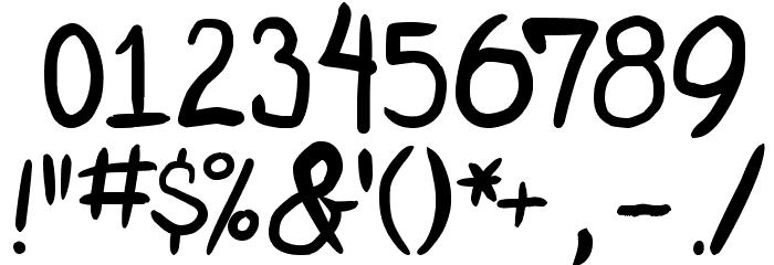 miniquest 字体 其它煤焦