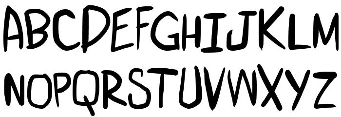 miniquest 字体 大写
