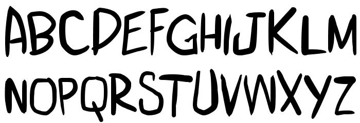 miniquest 字体 小写