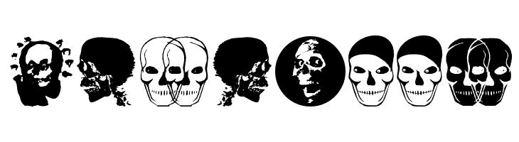 MKSkulls  Free Fonts Download