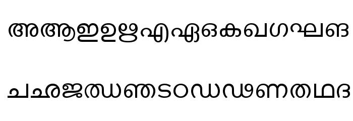 ML-TTKarthika Normal Font UPPERCASE