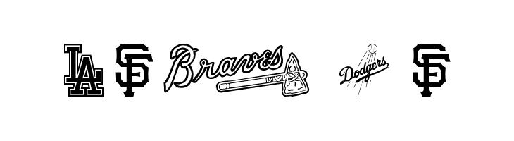 MLB NL  Fuentes Gratis Descargar