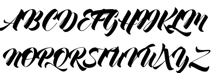 Mocking Bird Font UPPERCASE