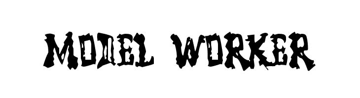 Model Worker  Free Fonts Download