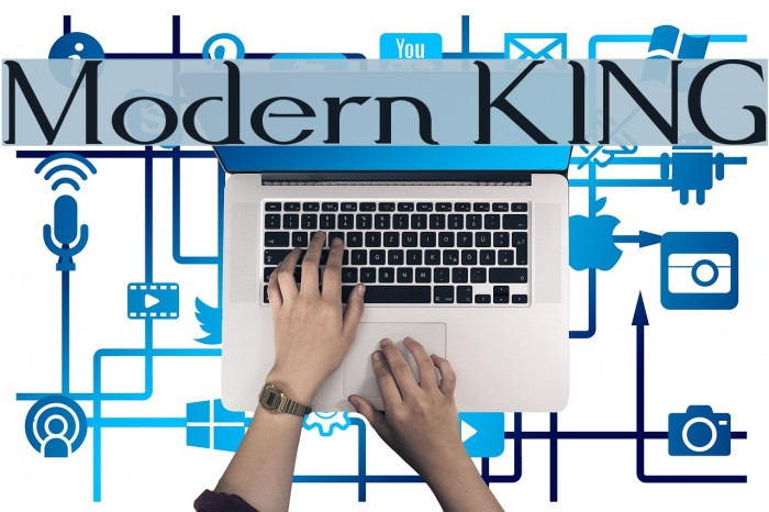 Modern KING Font examples