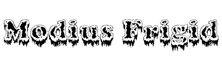 Modius Frigid  Free Fonts Download