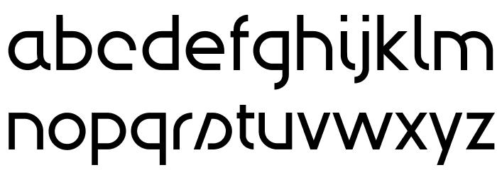 Modulario Шрифта строчной