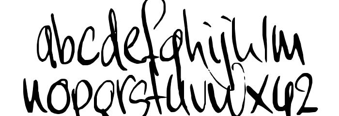 MoiNonPlus Font LOWERCASE