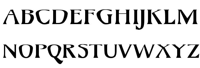 Mojacalo AH Font Litere mari