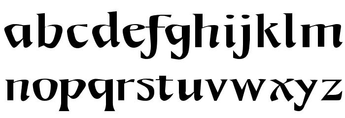 Mojacalo AH Font Litere mici