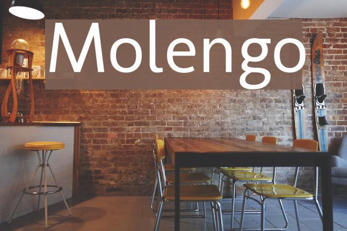 Molengo फ़ॉन्ट examples