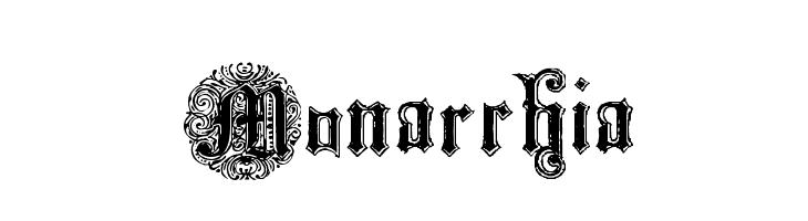 Monarchia  Free Fonts Download