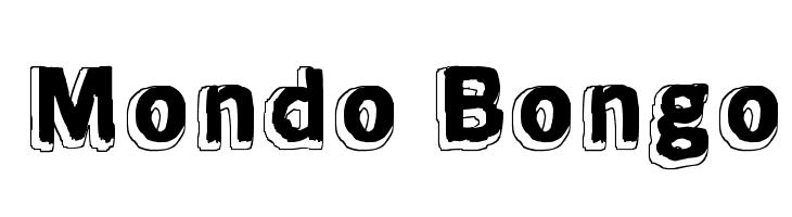 Mondo Bongo Font