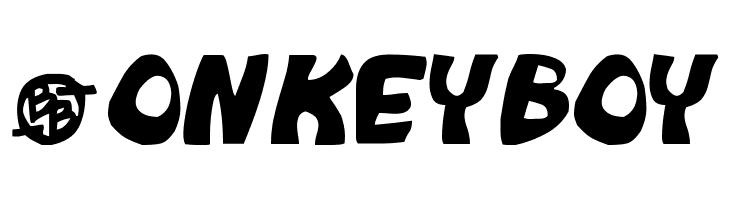 Monkeyboy  Free Fonts Download