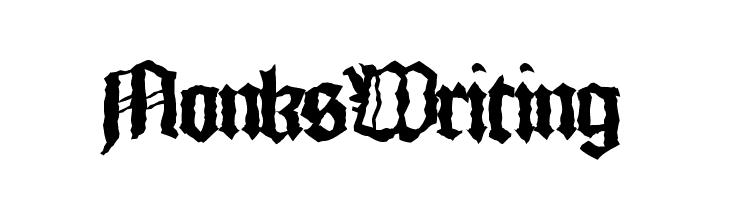 MonksWriting  baixar fontes gratis