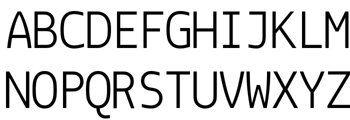 Monoid Normal Font UPPERCASE